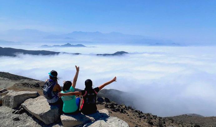 colchon de nubes Lima