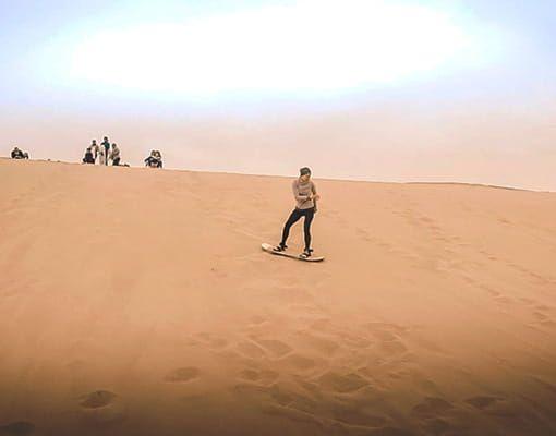 tour huacachina sandboarding