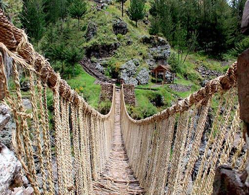 tour puente queswachaca o qeswachaca